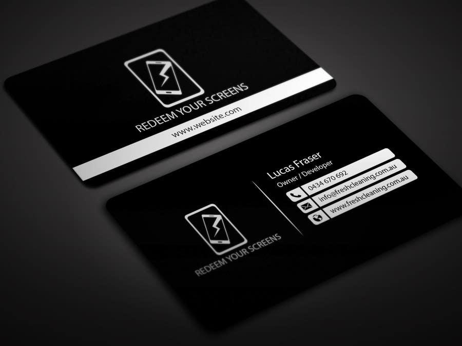 Entry 17 By Bikashbapon For Design Some Business Cards For A Broken
