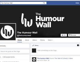 Nro 121 kilpailuun Develop a Brand Identity The Humour Wall käyttäjältä eitherxd11