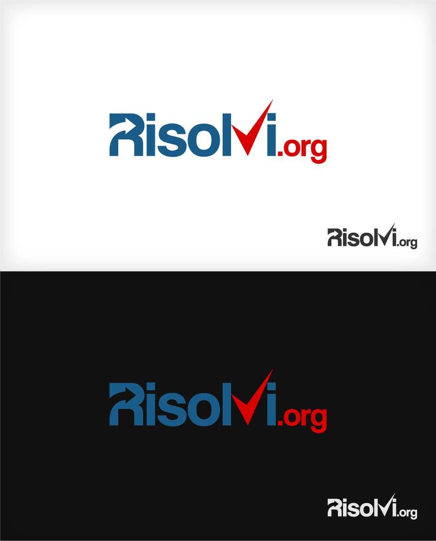 Konkurrenceindlæg #87 for RISOLVI.ORG