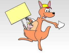 Wagner2013 tarafından design a kangaroo mascot for company için no 15