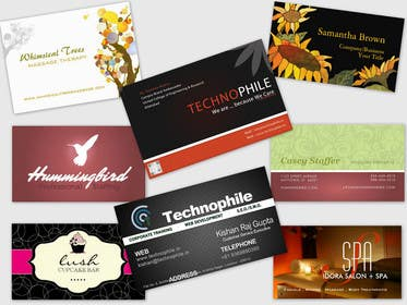Graphic Design Contest Entry #3 for Design Some Business Cards