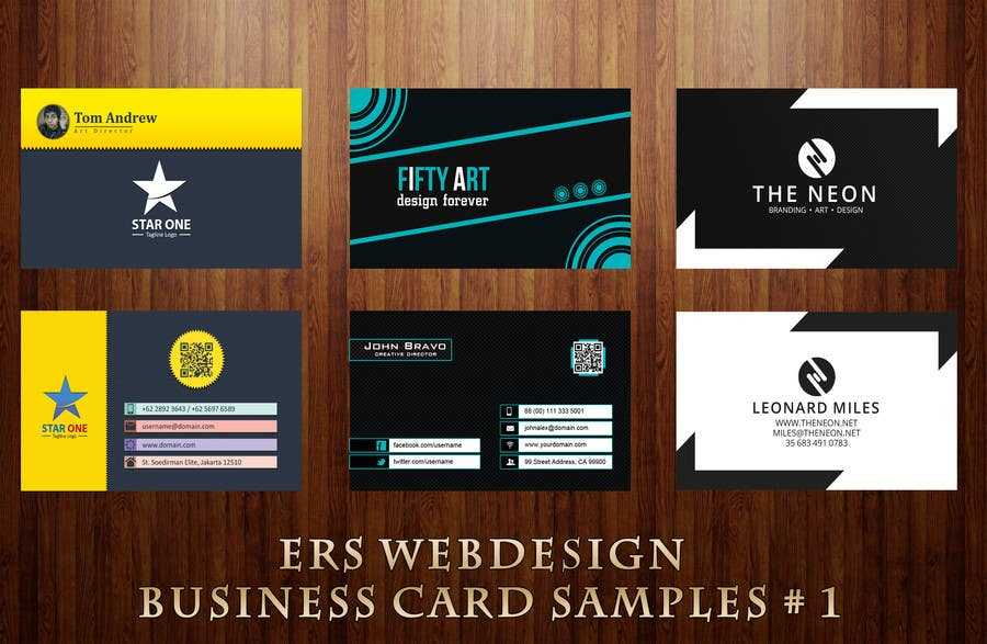 #2 for Design Some Business Cards by ersinhakera