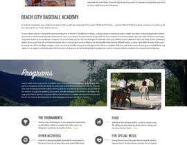 zafarchromatics tarafından Design a long scrolling homepage website mockup için no 19