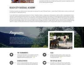 Nro 20 kilpailuun Design a long scrolling homepage website mockup käyttäjältä zafarchromatics