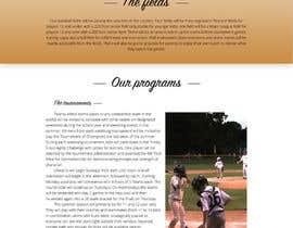 Nro 21 kilpailuun Design a long scrolling homepage website mockup käyttäjältä VictorNov