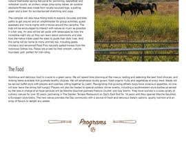 Nro 22 kilpailuun Design a long scrolling homepage website mockup käyttäjältä hairenuka