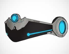 Nro 14 kilpailuun Design a Sci-Fi Visor / Eyewear käyttäjältä jnd0e