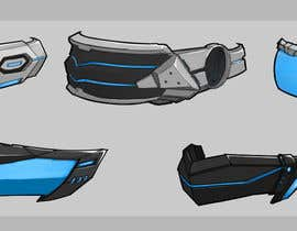 #7 for Design a Sci-Fi Visor / Eyewear by floresnone