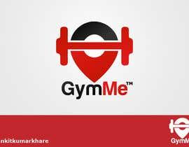Nro 12 kilpailuun Design a logo for GymMe™ käyttäjältä ankitkumarkhare