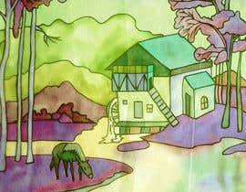 Nro 3 kilpailuun Design some painterly artwork käyttäjältä Eugenya