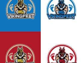 Nro 51 kilpailuun Logo for VIKINGFEET käyttäjältä icechuy22
