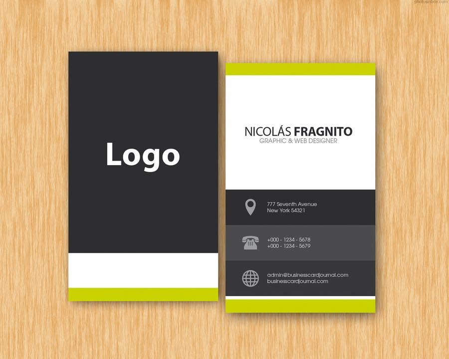Kilpailutyö #5 kilpailussa Design Some Business Cards