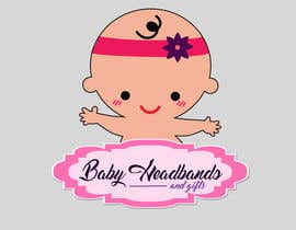 #13 for Design a Logo for http://babyheadbandsandgifts.com/ by shanacruzate