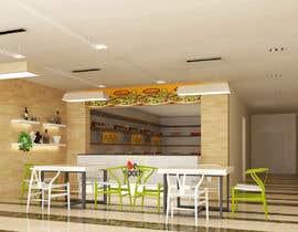 Nro 24 kilpailuun 3D Interior Design for Food Store käyttäjältä khmamun50