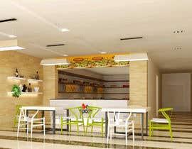 Nro 27 kilpailuun 3D Interior Design for Food Store käyttäjältä khmamun50