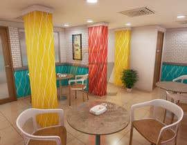 Nro 36 kilpailuun 3D Interior Design for Food Store käyttäjältä Zenzoetrope