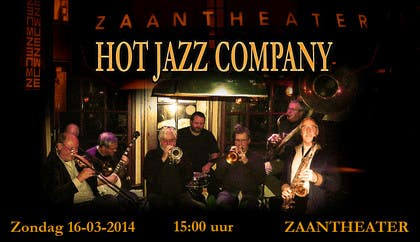 #7 for Design a simple band advertisement for Hot Jazz Company by josecba