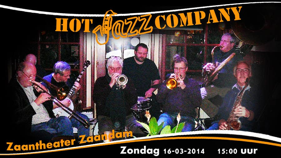 #14 for Design a simple band advertisement for Hot Jazz Company by anazvoncica