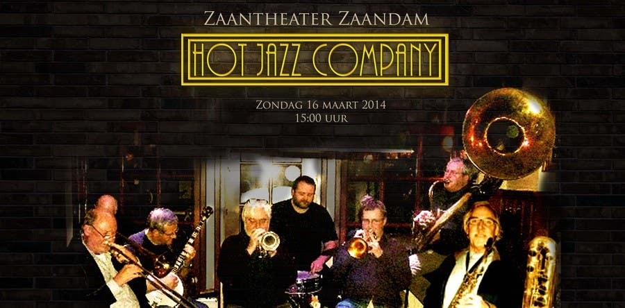 #13 for Design a simple band advertisement for Hot Jazz Company by shivangibhatia28