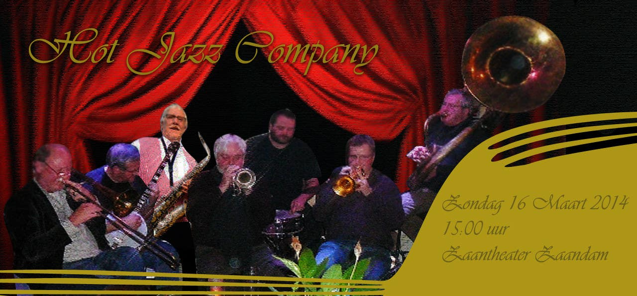 #18 for Design a simple band advertisement for Hot Jazz Company by marwinisaac