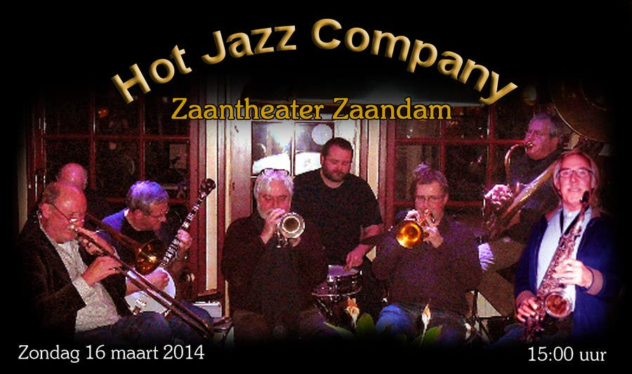 #12 for Design a simple band advertisement for Hot Jazz Company by inoka74