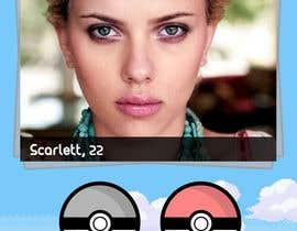 Nro 2 kilpailuun Need a Ui for a new pokemon go dating app! käyttäjältä Kuzmanovic