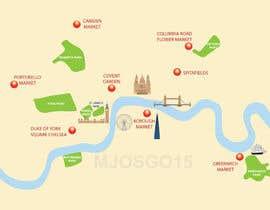 Nro 11 kilpailuun London Market Map käyttäjältä mjosgo15