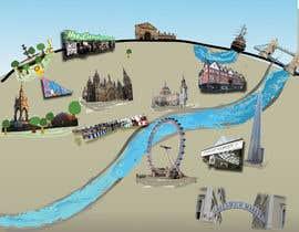 Nro 3 kilpailuun London Market Map käyttäjältä KumailNaqavi