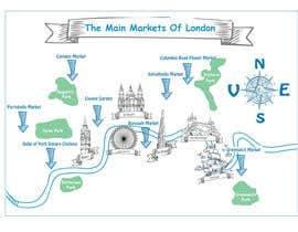 Nro 17 kilpailuun London Market Map käyttäjältä lauraburdea