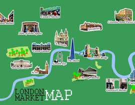 #4 for London Market Map by swidyantara