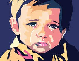 #9 for Reinvent The Crying Boy painting (Menino da Lagrima) af roelworks