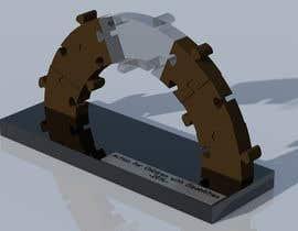 nº 7 pour Do some 3D Modelling and design for a trophy par sfoche