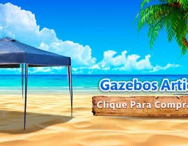 Nro 27 kilpailuun Design a Banner - Gazebo on the beach käyttäjältä orientecreativo