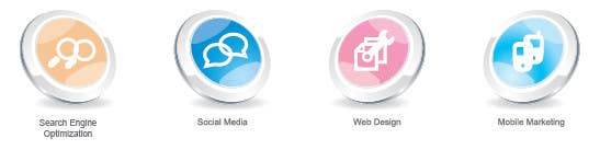 #28 for Button Design for Homepage Icons by kalashaili