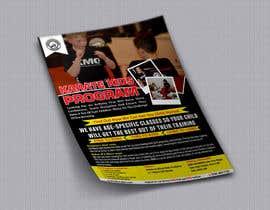 meenapatwal tarafından Double sided folded a4 Martial Arts flyer için no 3