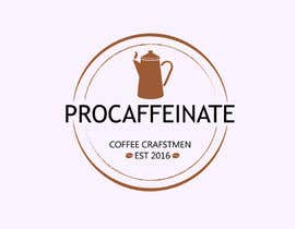 Nro 84 kilpailuun Design a Logo for a small coffee roasting business in New Zealand called Procaffeinate käyttäjältä VeronicaArt