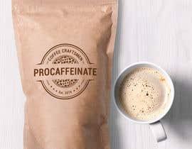 lareveuse tarafından Design a Logo for a small coffee roasting business in New Zealand called Procaffeinate için no 36