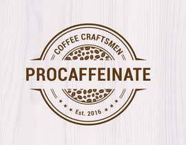 lareveuse tarafından Design a Logo for a small coffee roasting business in New Zealand called Procaffeinate için no 37