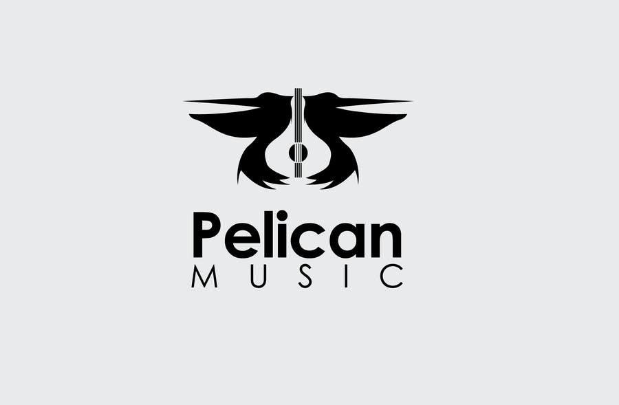 """Bài tham dự cuộc thi #49 cho Design a Logo for """"Pelican Music"""""""