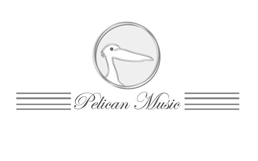 """Bài tham dự cuộc thi #43 cho Design a Logo for """"Pelican Music"""""""
