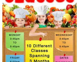 #27 cho Design a Flyer for Cooking Classes bởi Frankeelee
