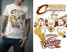 sandrasreckovic tarafından Design An Eye Catching Cleveland Cavaliers T-Shirt Design için no 40