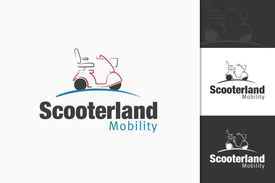 Konkurrenceindlæg #51 for Logo Design for Scooterland Mobility