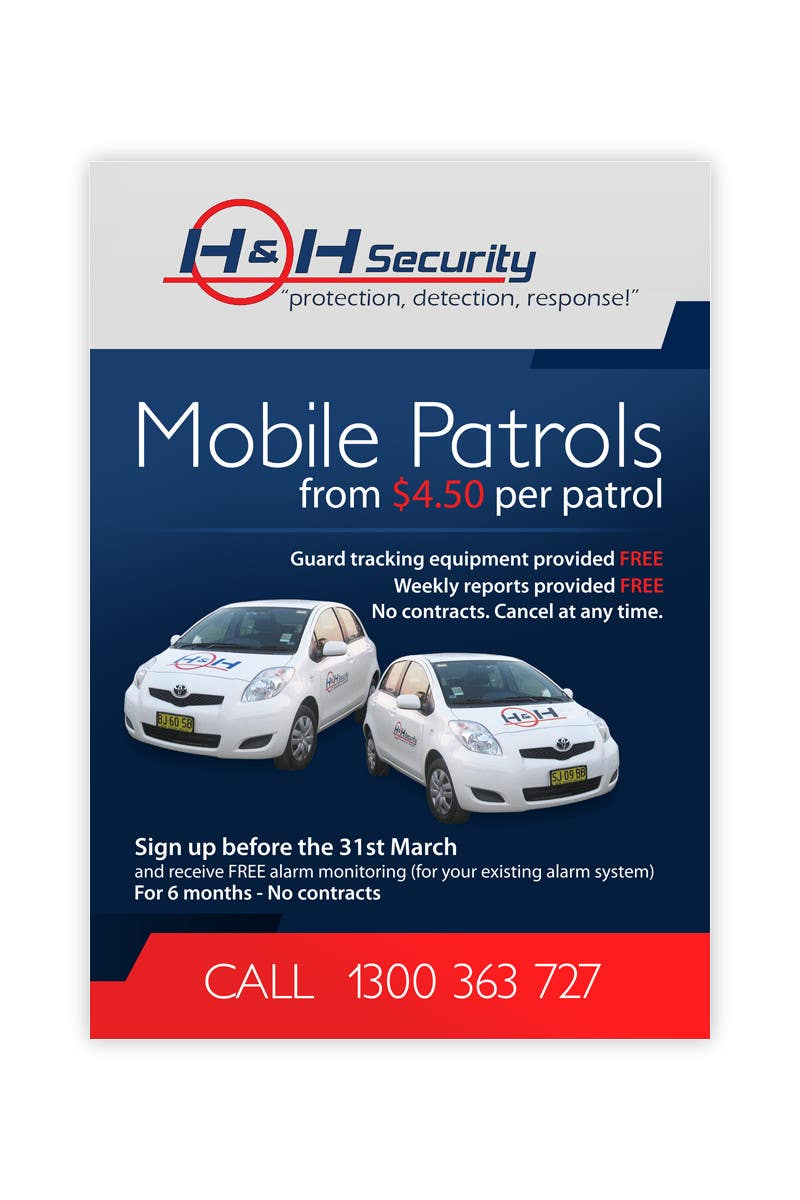 #31 for Design a Flyer for Mobile Patrol promotion by pris