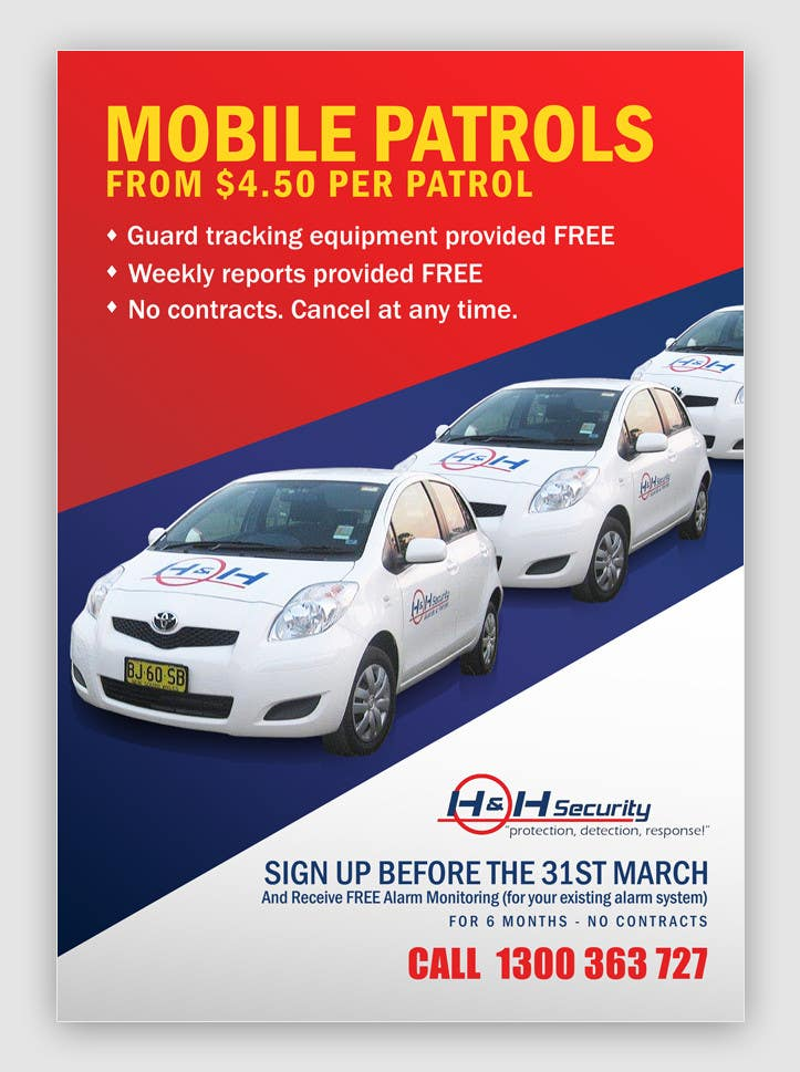 #59 for Design a Flyer for Mobile Patrol promotion by pris