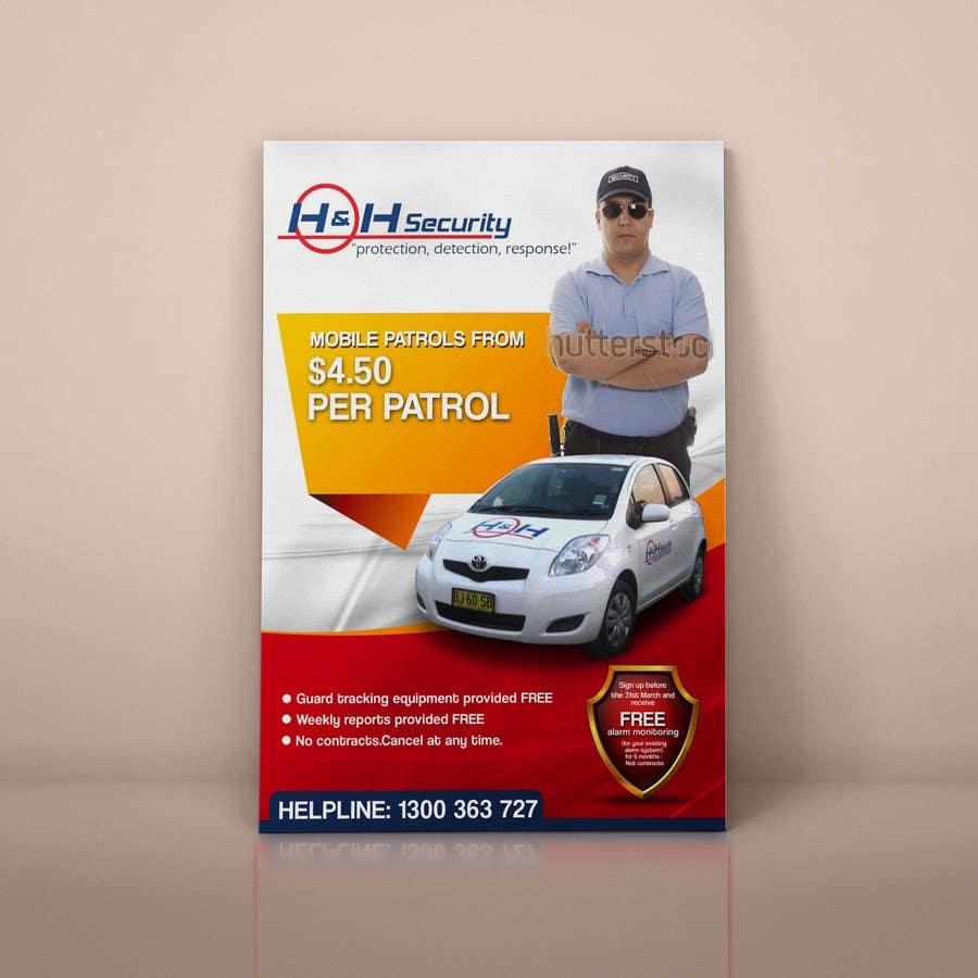 #29 for Design a Flyer for Mobile Patrol promotion by freelancejob2013
