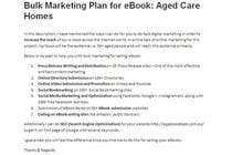 Entry # 7 for Assist me with Bulk Marketing for selling my eBook Aged Care Homes by