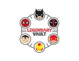 Rroyal2013 tarafından Design a Logo for a new online geek store LegendaryVault!! için no 14