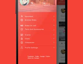 shourav01 tarafından Design an App Mockup for a car community için no 9