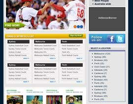 #47 für Website Design for Sportsconnect von angelmaxy
